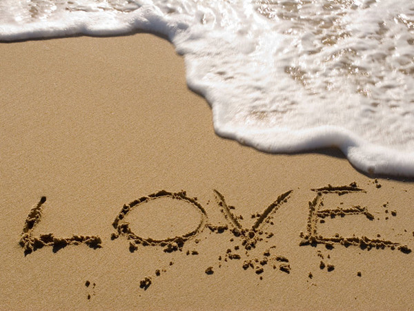 рисунки на песке: