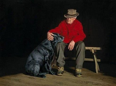 Картинки по запросу картинки старик и собака