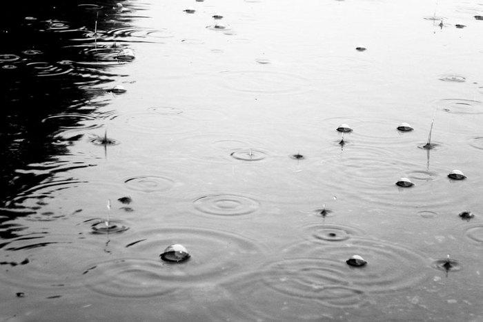 С дождём душевная прохлада