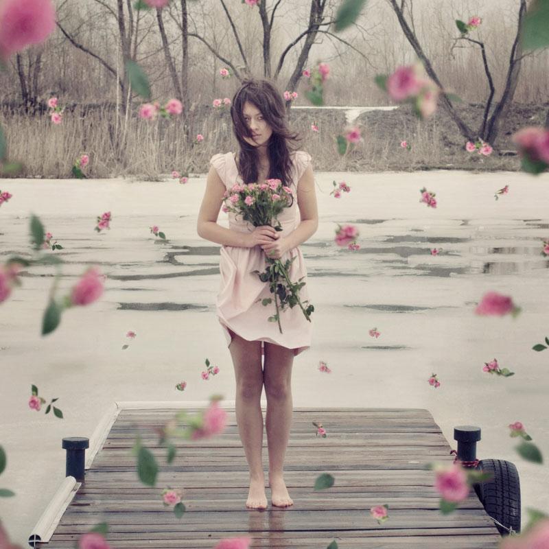 стихи весна приходит в платье белом
