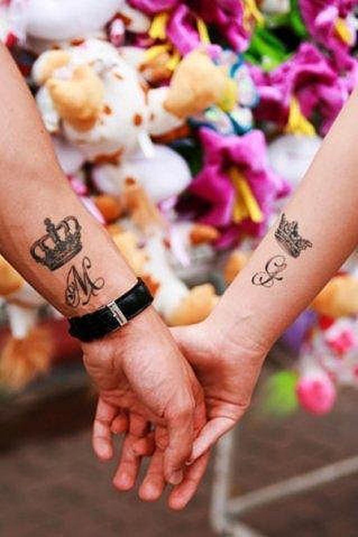 Парная татуировка на руках