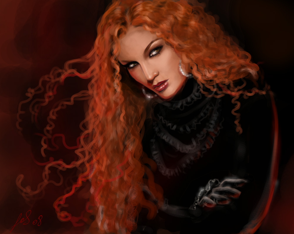 Картинки рыжие девушки осенью - 2ab5