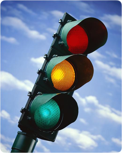 поменялся режим работы светофора