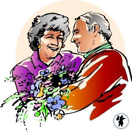 Поздравление бабушке и дедушке на годовщину свадьбы