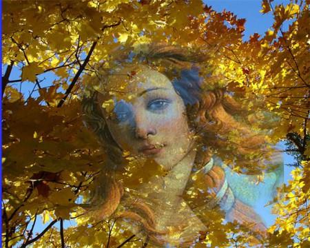 Саксофон и осень картинки