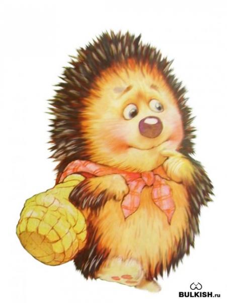 Картинка для детей лиса в лесу