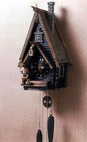 Часы с кукушкой своими руками фото