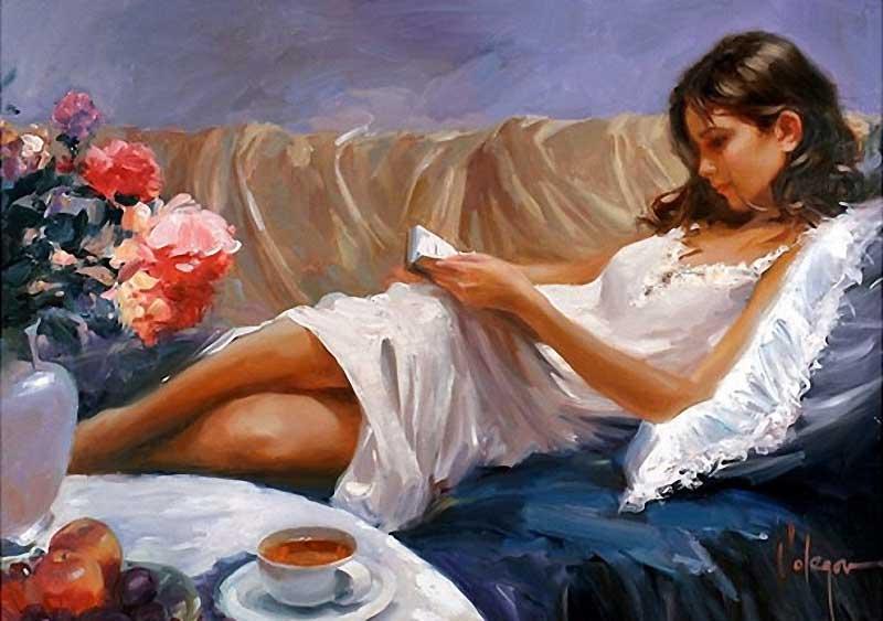 Женская красота в живописи... Обсуждение на LiveInternet ...