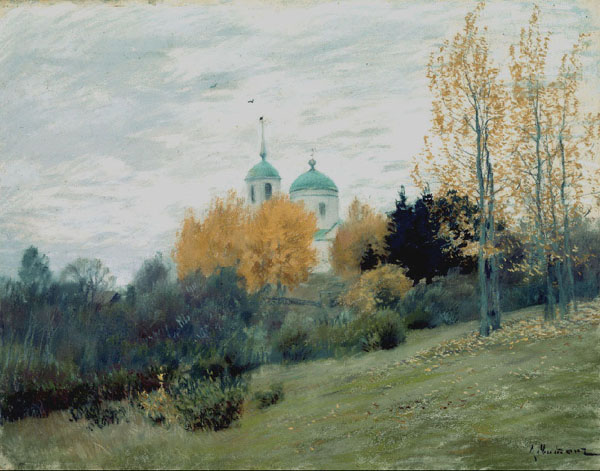 Картинки осенние церквей