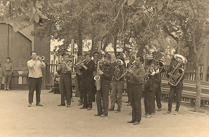 фото духовой оркестр ссср