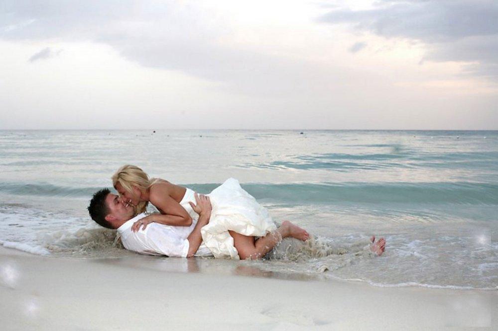 Секс на пляже фото.