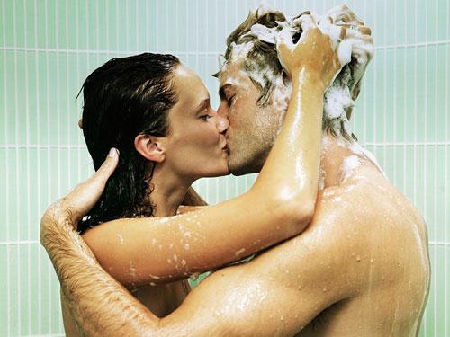 сексуальные картинки в душе