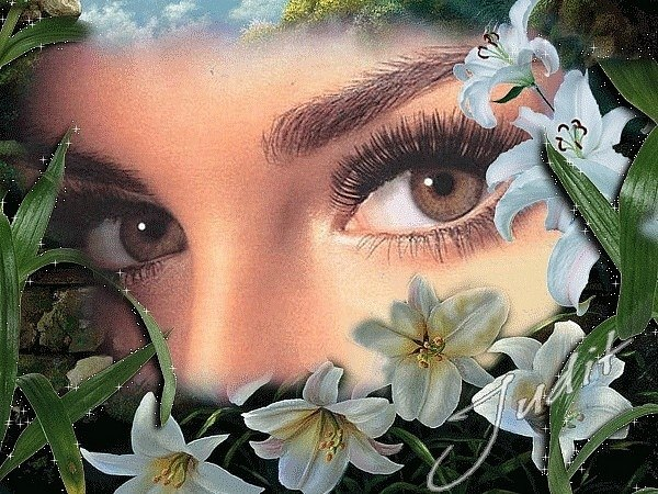 Открытки живые глаза