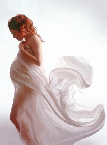 """Предпросмотр схемы вышивки  """"Беременная женщина """" ."""
