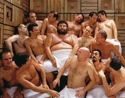 фото в бане мужик