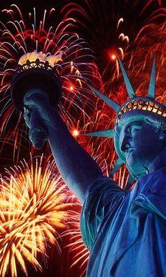 Статуя свободы, Америка.