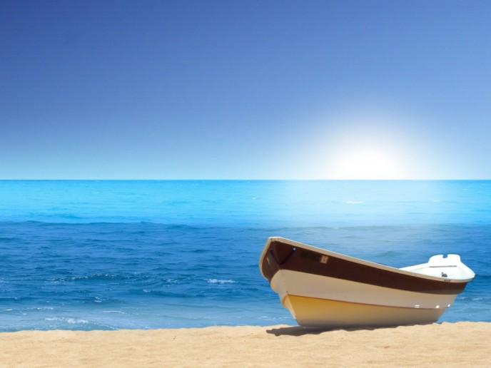 я оттолкнула лодку от причала слушать