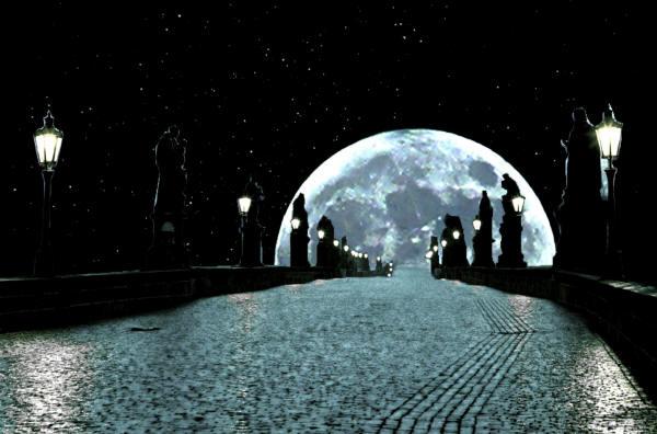 фото луны и звезд