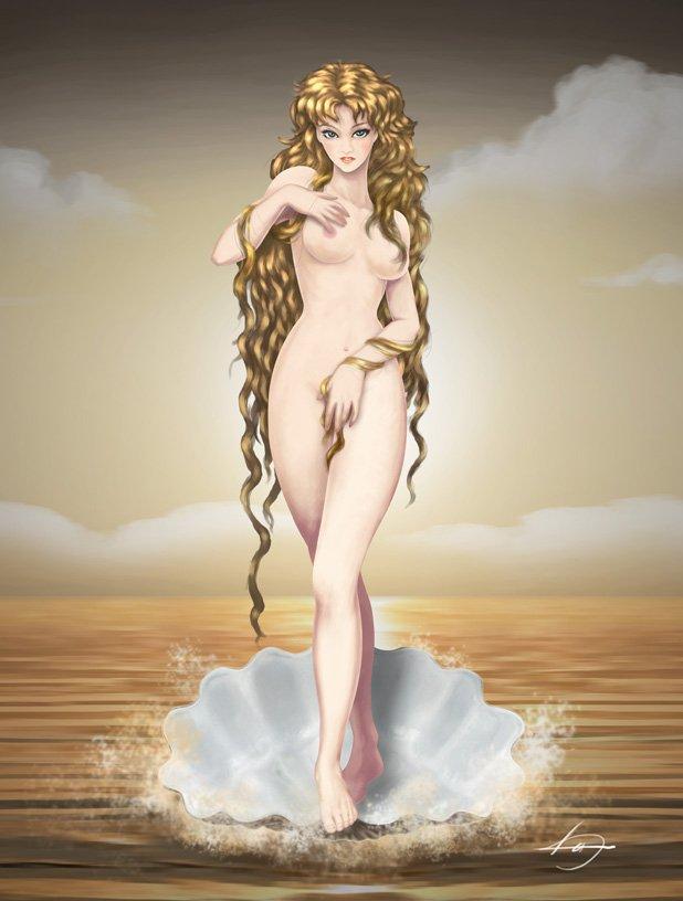 фото голая афродита