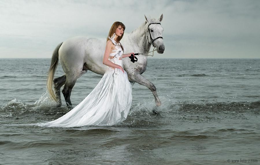 Стихотворение я в белом платье