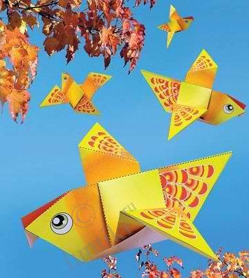 Схемы сборки оригами из бумаги - как сделать фигурки, модульное оригами, бесплатно.  Наиболее интересные темы.