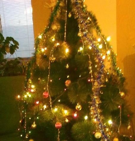 Шары и фонарики на елку своими руками