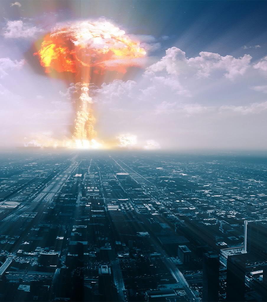 Ядерная атака картинки