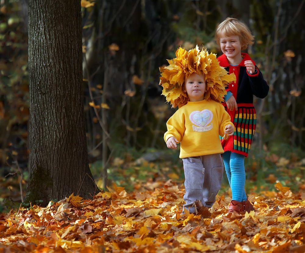 Стихи к фото детей на прогулке