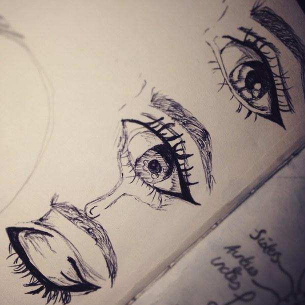 Рисунки слезинок