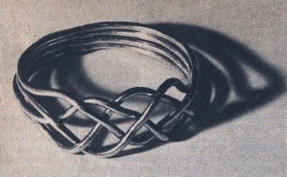 Как сделать браслет из проволоки?