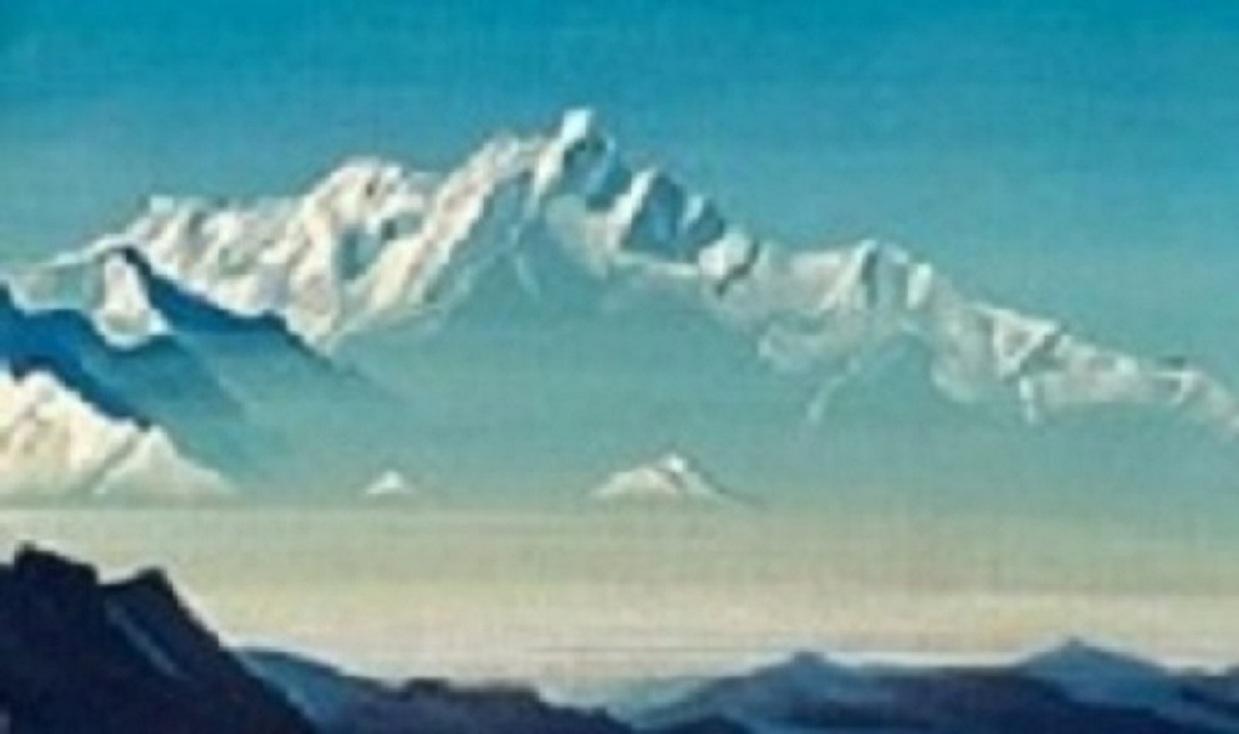Картины художника Николая Рериха живопись картины Тибет