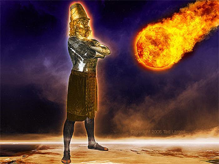 Истукан навуходоносора картинка