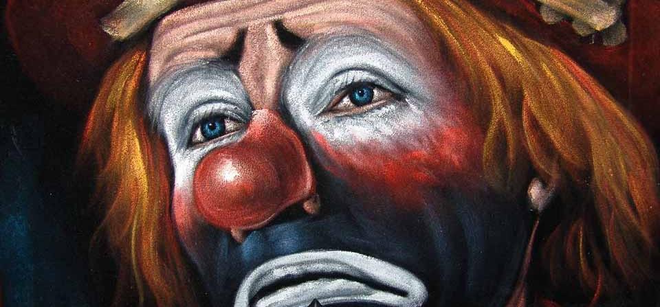 Грустный клоун и закрытие цирка