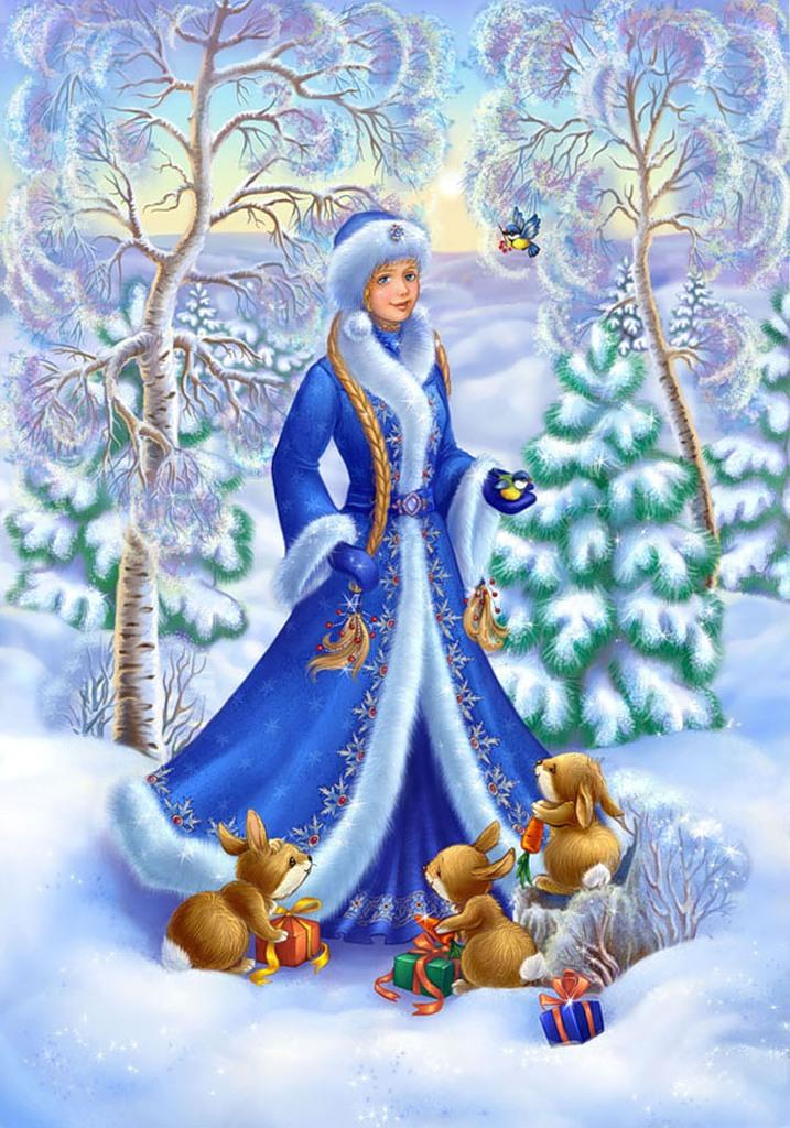 картинки снегурочка девочка