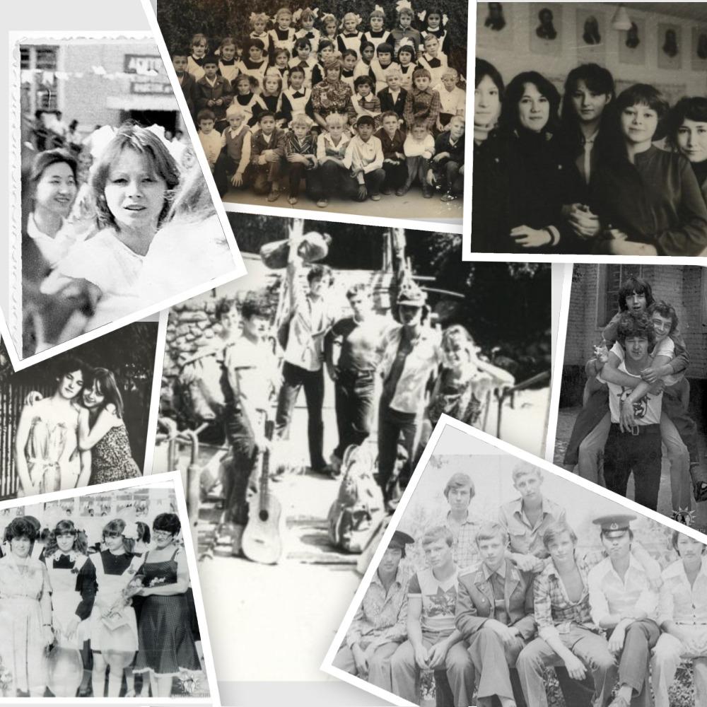 Коллаж из черно белых фотографий своими руками - МАРЛИН