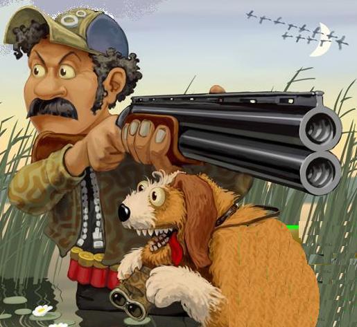 фото картинки охотник и рыболов