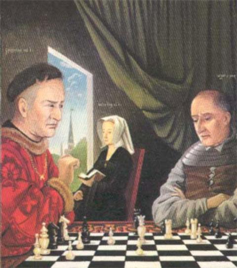 Питер Ван Гюйс Игра В Шахматы