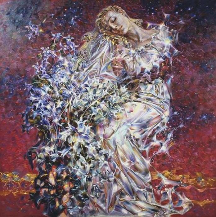 Наталья Глазунова-Моисеева, Луной был полон сад...[[Проза,тексты 2822