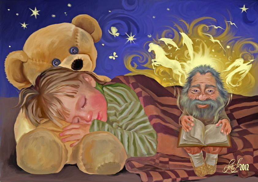 сказочка о домовом стихи орлова мама