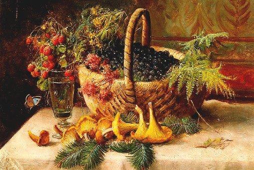 Осенние пейзажи рисование по сырому