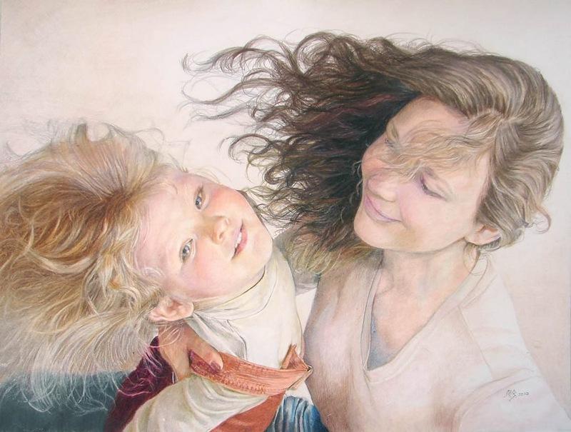 Открытки мамы и дочки, открытка