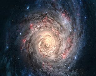 Пример 1 спиральной галактики