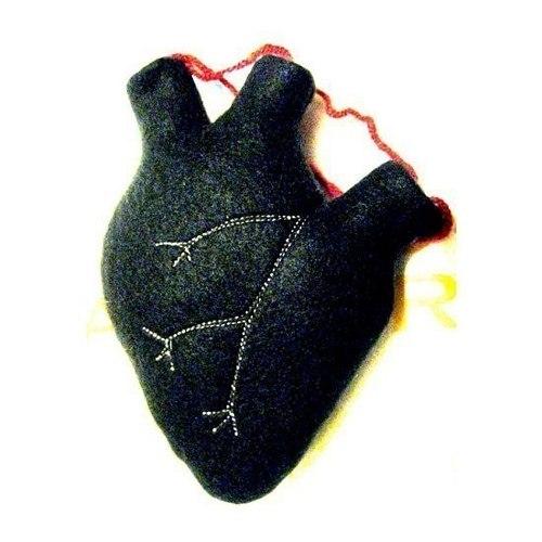 картинки черное сердце