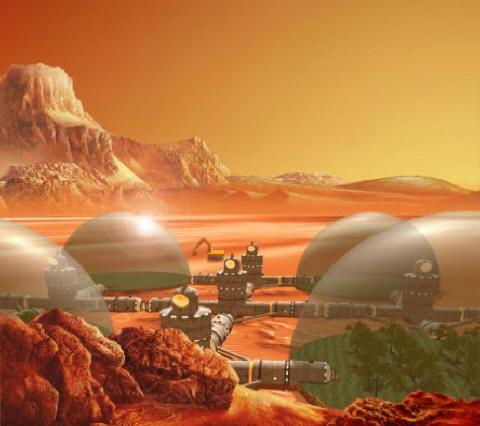 Колонизируем Марс! 2944