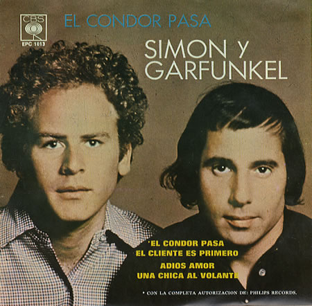 Скачать песню simon garfunkel el condor pasa