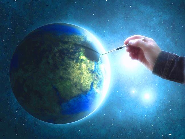 И свет небес, и цветность красок мира