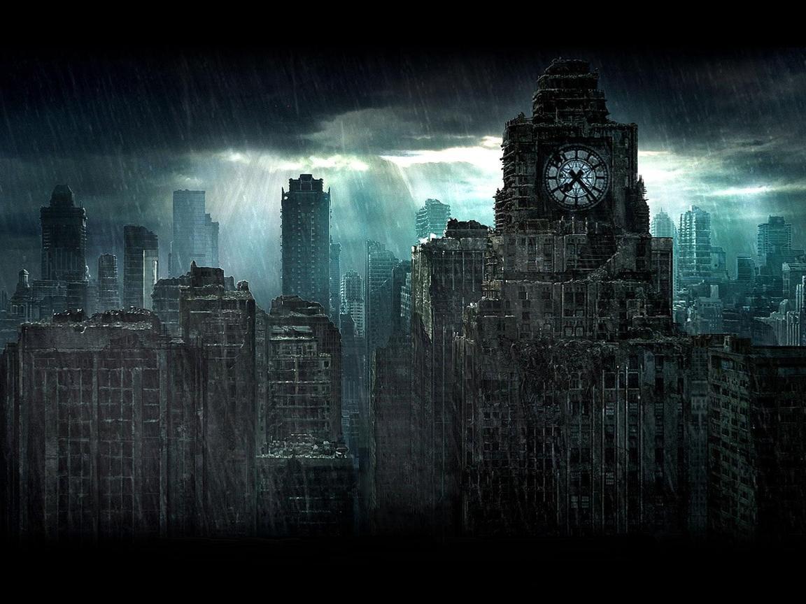 фото город призрак