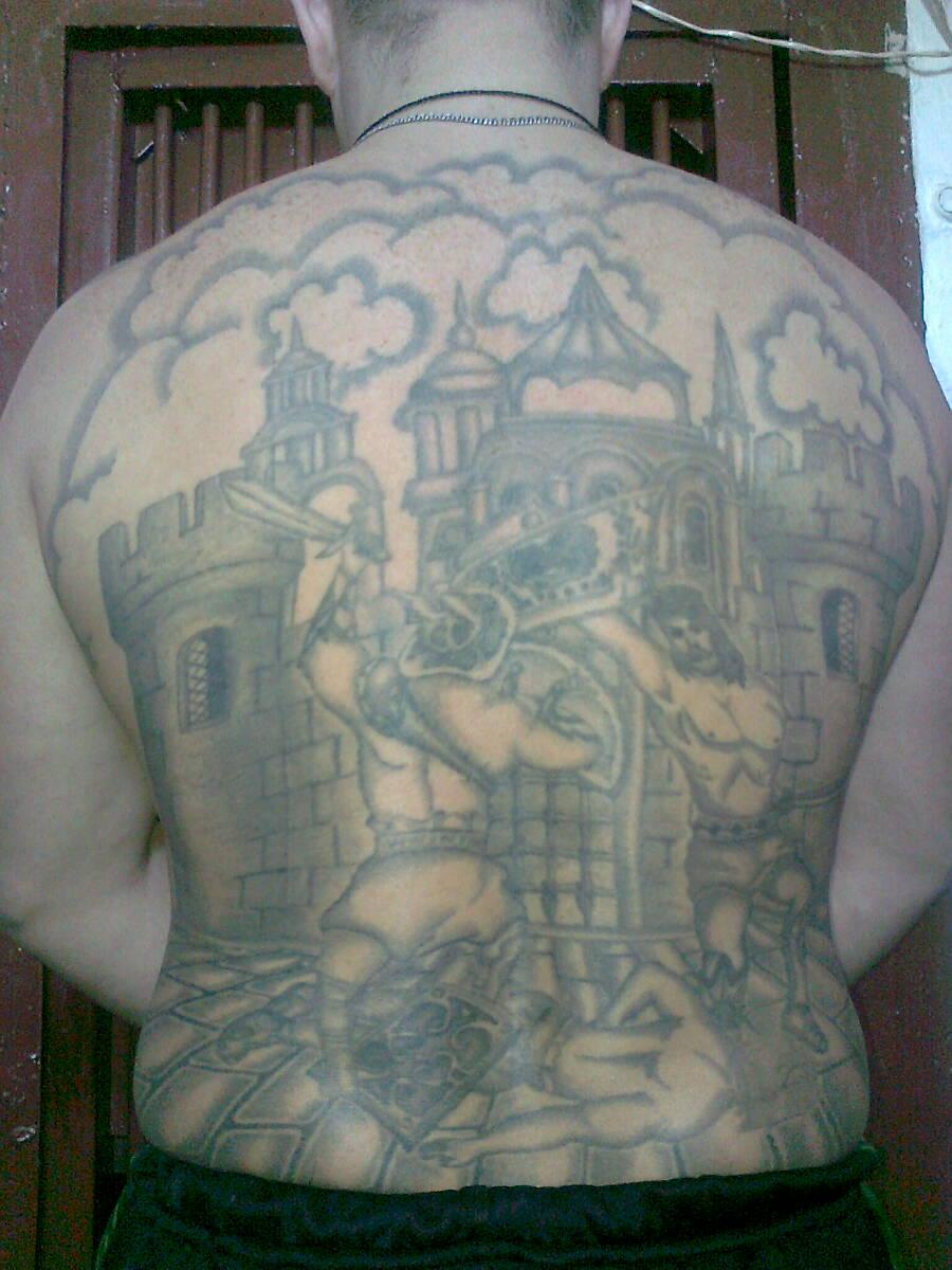 Фото и значение воровских татуировок