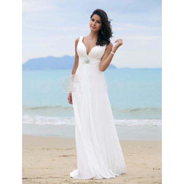 BELLA - Платье свадебное из шифона.