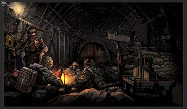 Арты метро 2034